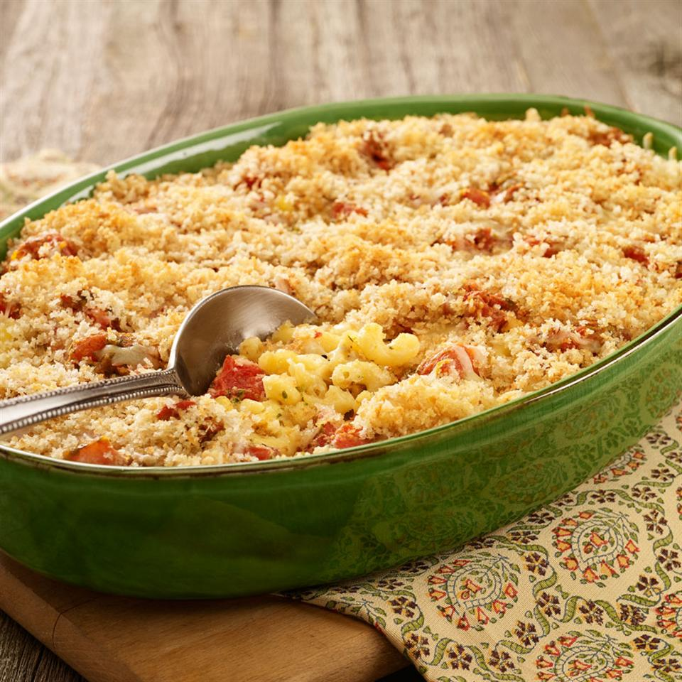 Caprese Macaroni and Cheese Trusted Brands