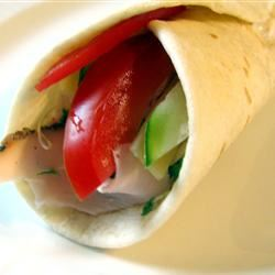 Smoked Turkey Tortilla Wraps Jillian Kuhlmann