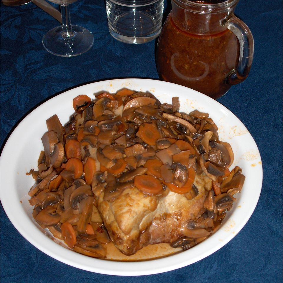 Red Wine Pork Lea Coppage