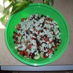 Blue Cheese and Dried Cranberry Tossed Salad Adrienne