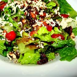 Blue Cheese and Dried Cranberry Tossed Salad PAMELA D. aPROpos of nothing