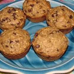 Banana-Chip Oat Muffins Catlin