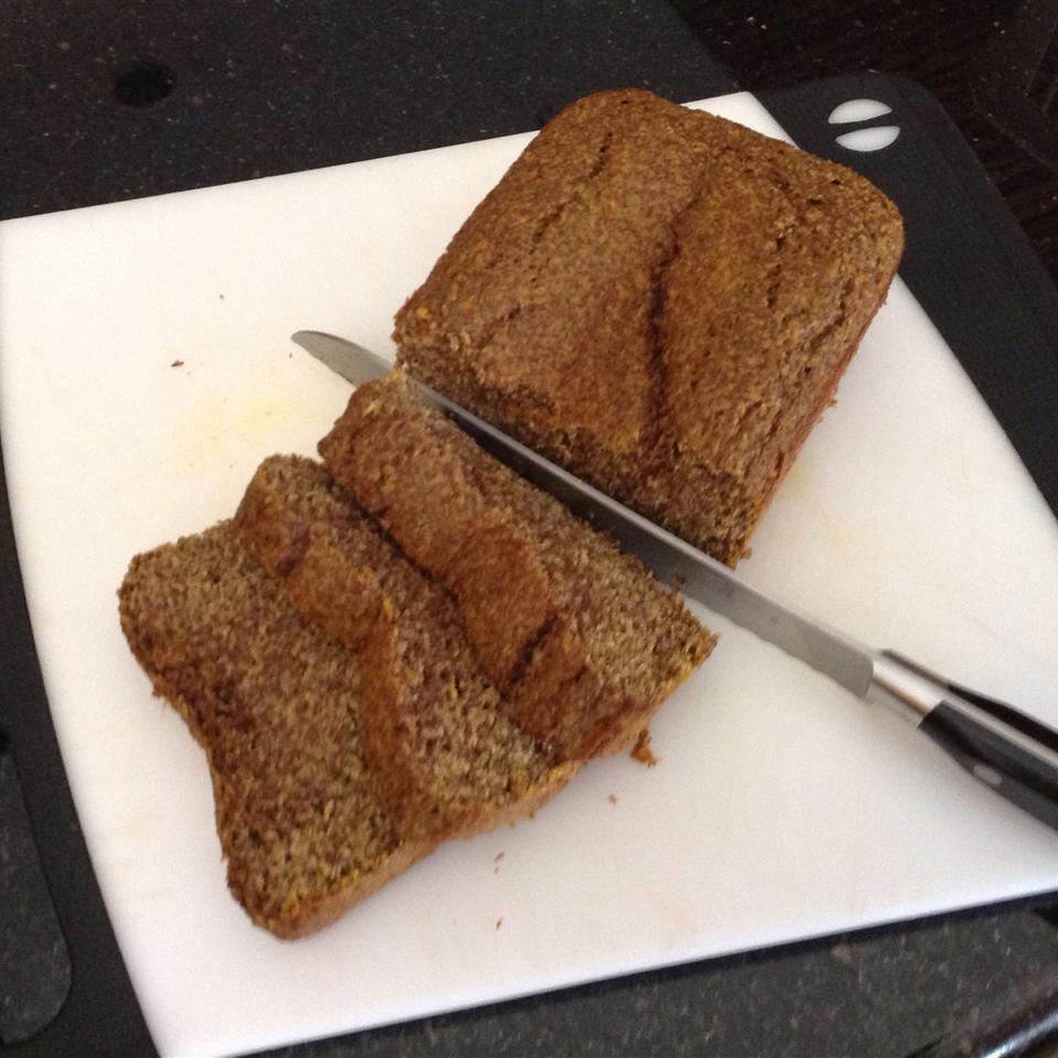 Gluten-Free Pumpkin-Flax Seed Bread