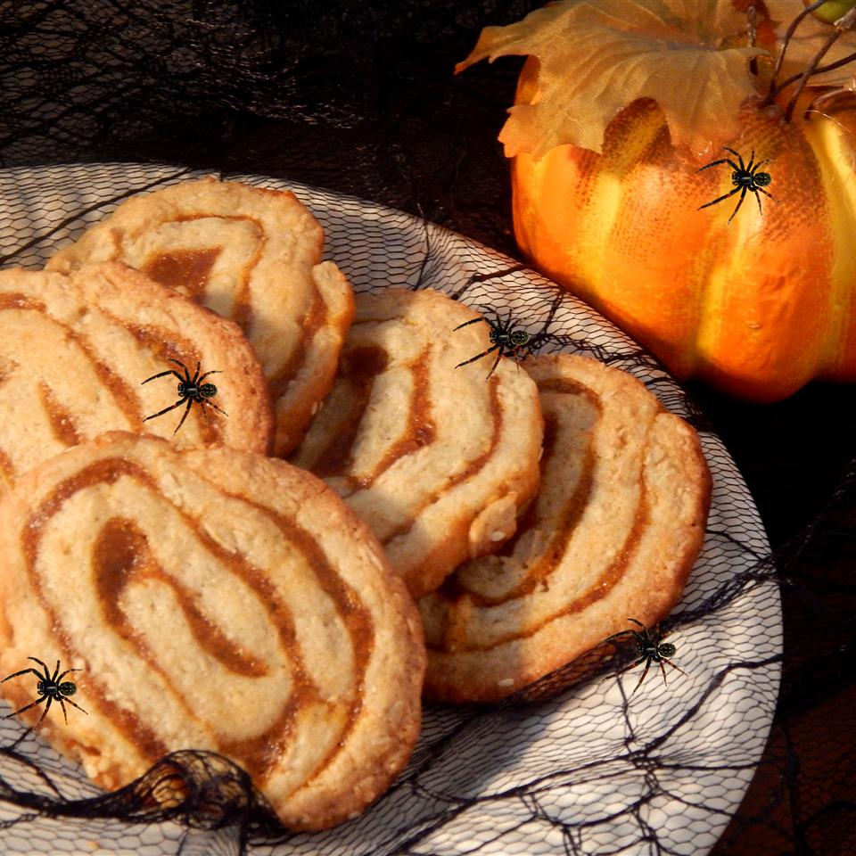 Oats and Pumpkin Pinwheels