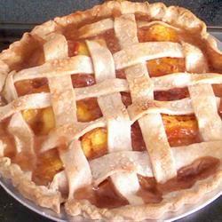 Freezer Peach Pie Filling Susan 'Bland' Mitchell