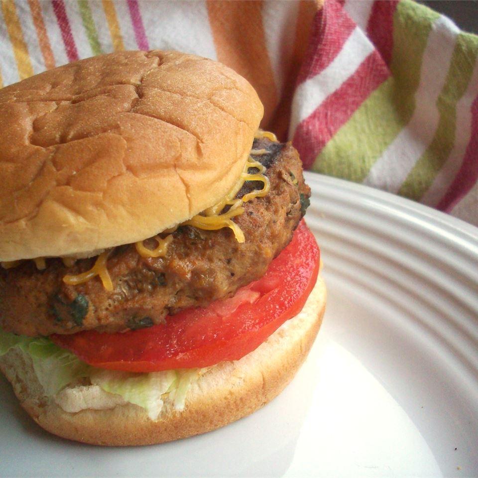 Spicy Turkey Burgers CookinBug