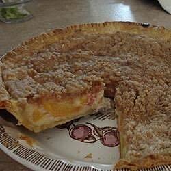old fashioned peach cream pie recipe