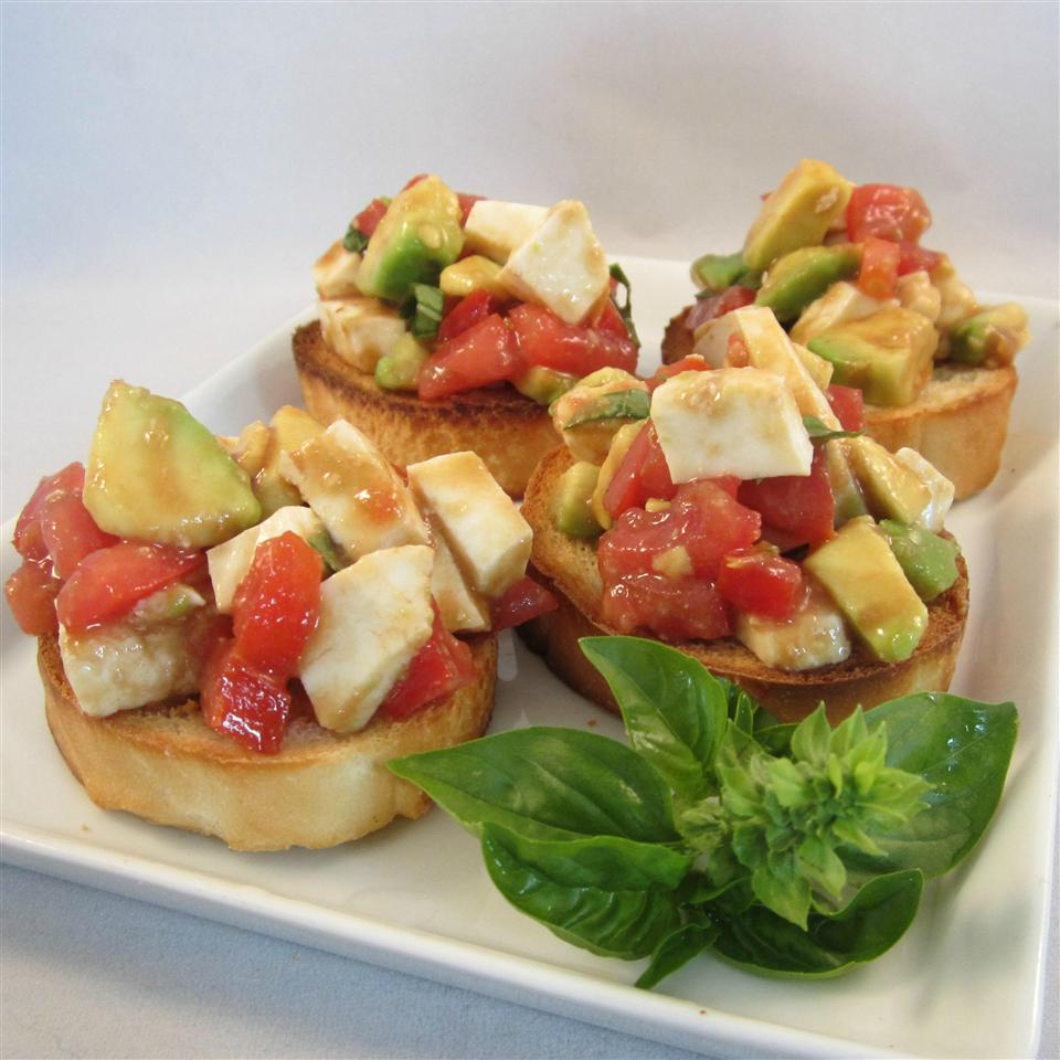 Most Amazing Salad! Tomato, Mozzarella, Avocado, and Bliss