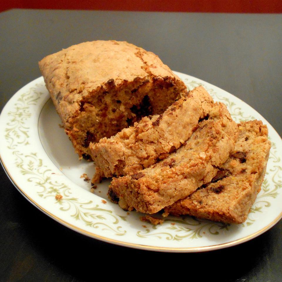 Chocolate Chip Orange Zucchini Bread