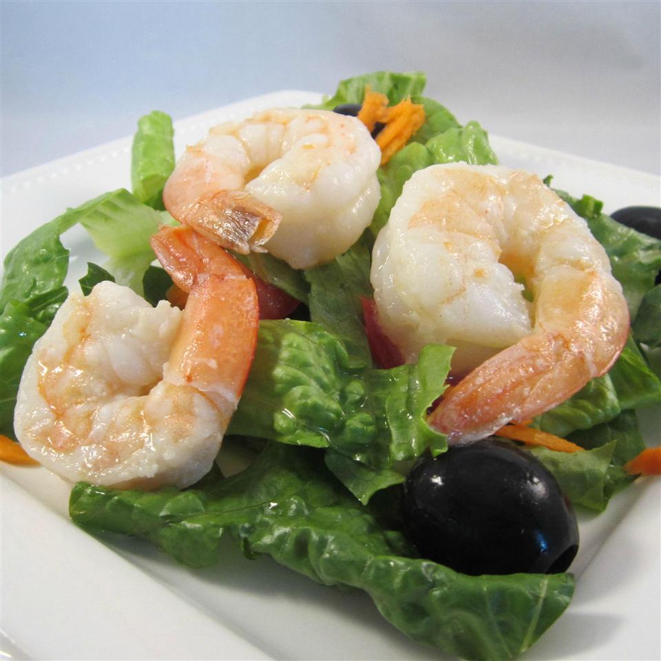 Warm Shrimp Salad Deb C
