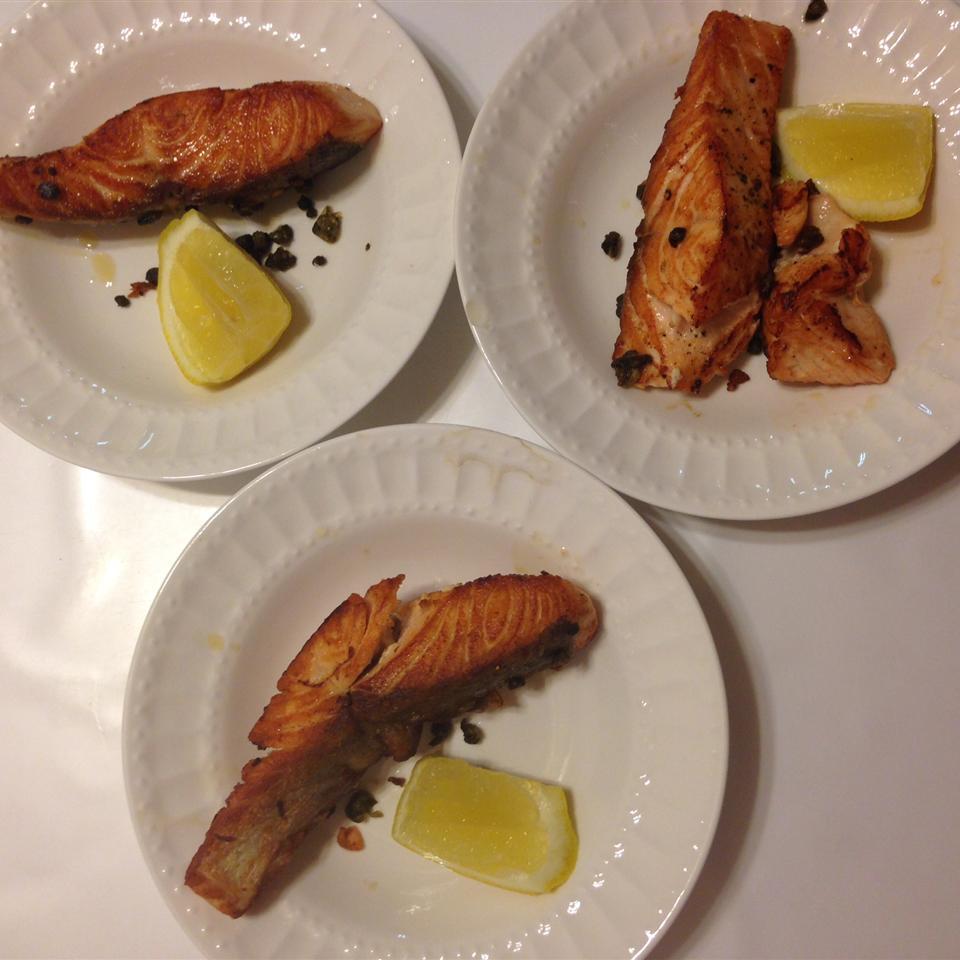 Pan Seared Salmon I scott