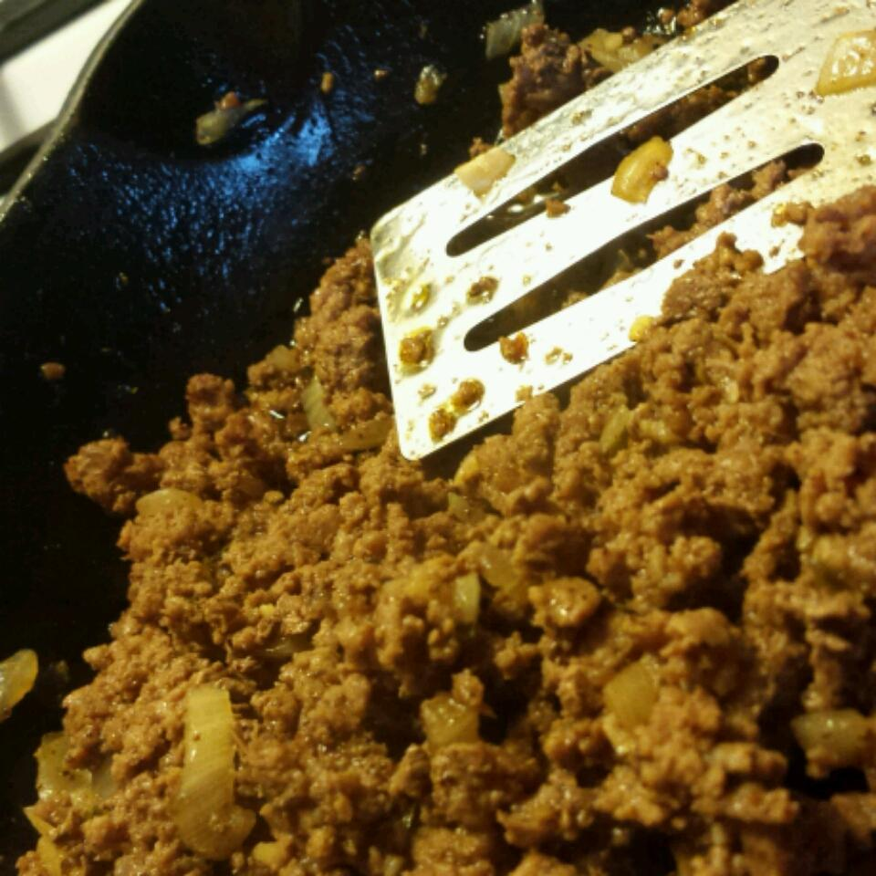 Ground Beef with Homemade Taco Seasoning Mix