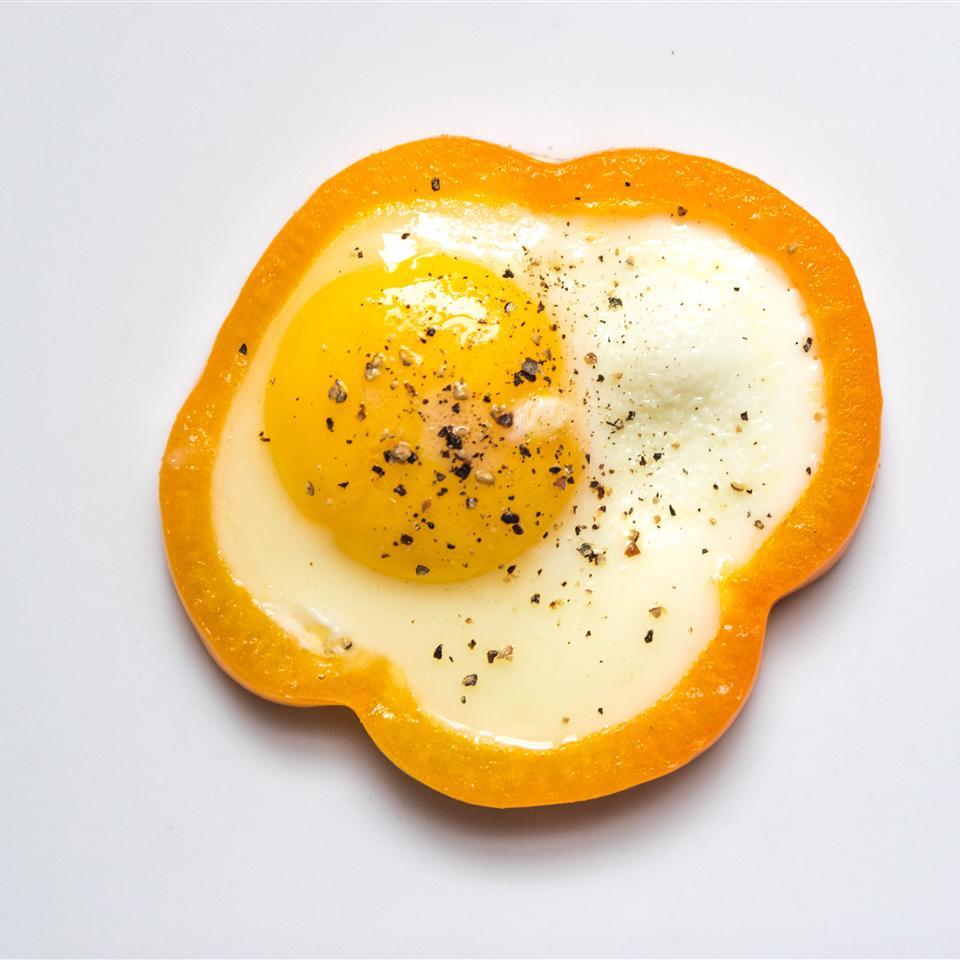 Egg in a Pepper Chef Lizzie