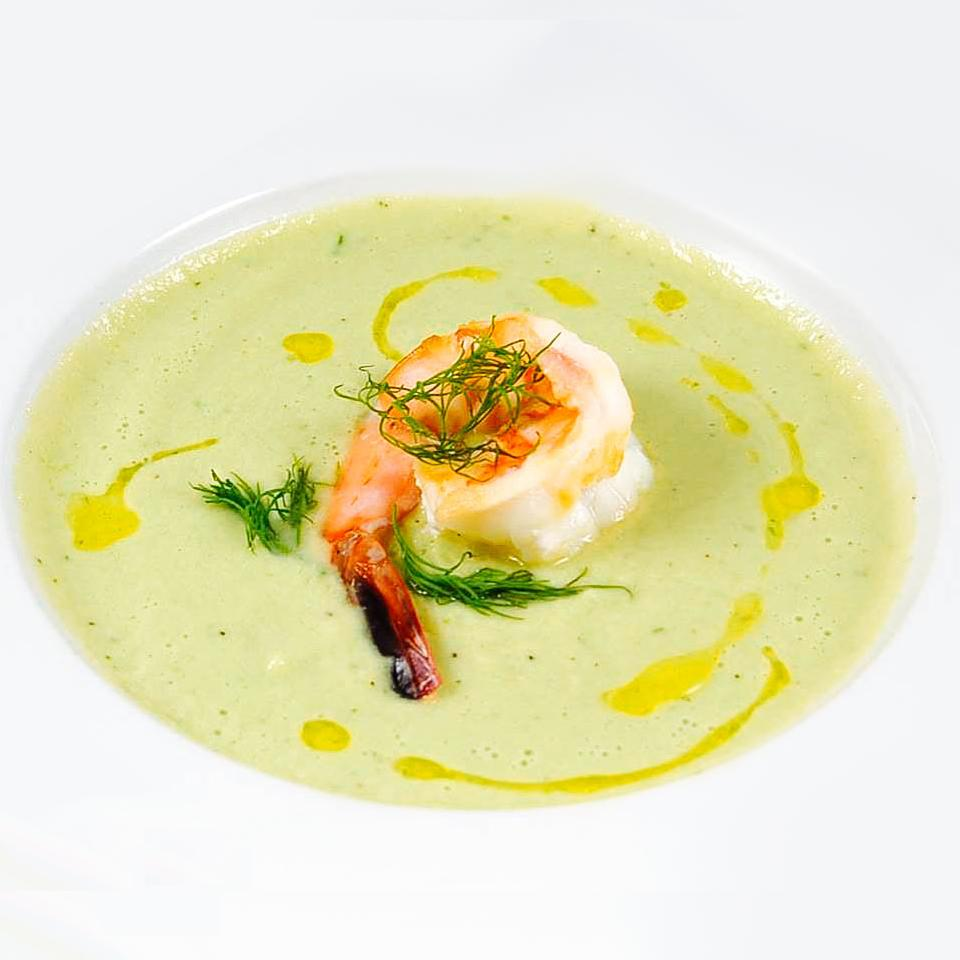 Avocado Shrimp Bisque Aja