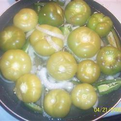 Green Hot Sauce (Salsa Verde) Sherbear1