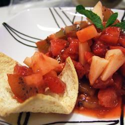 Annie's Fruit Salsa and Cinnamon Chips maimai