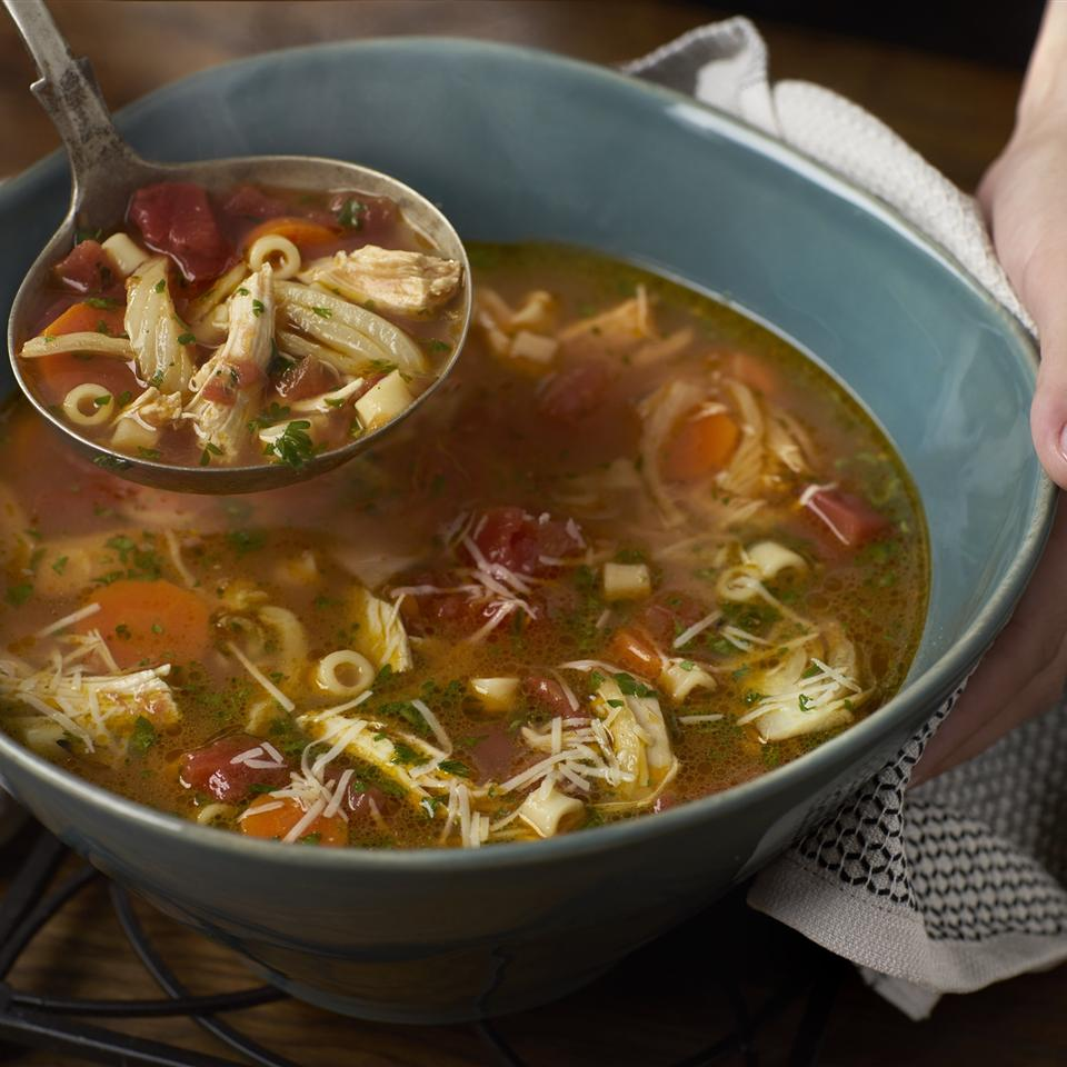 Italian-Style Chicken Noodle Soup