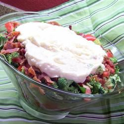Seven Layer Salad