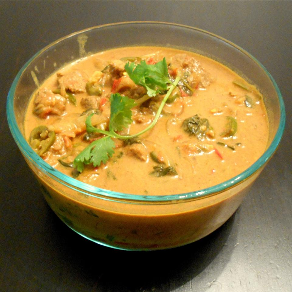 Beef and Spinach Curry ONIOND