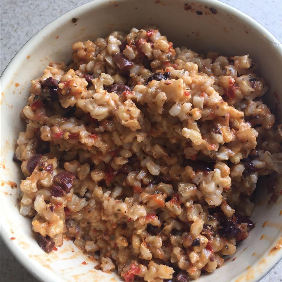 Mediterranean Barley Salad spjeffer