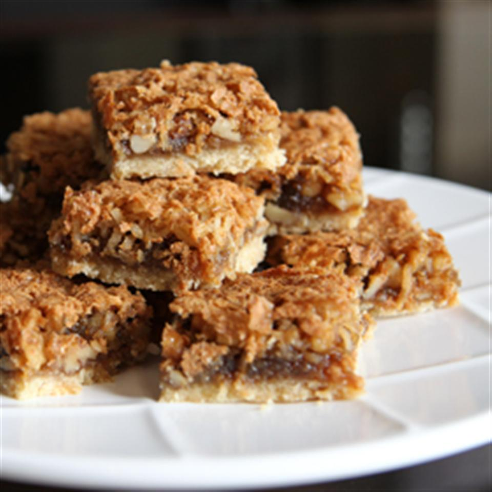 Coconut Walnut Squares Trusted Brands