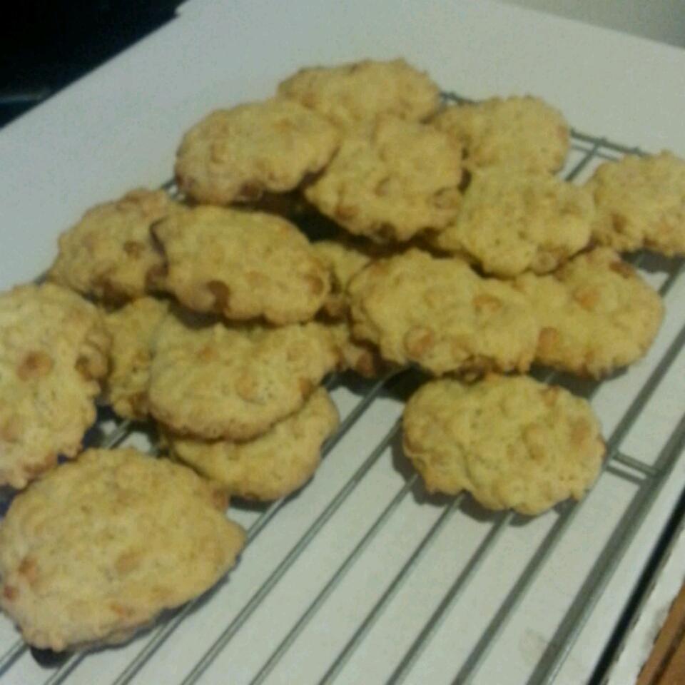 Crispy Butterscotch Cookies April Black