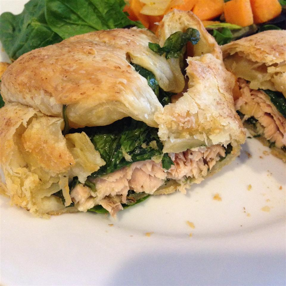 Puff Pastry Salmon Alyssa Coutry