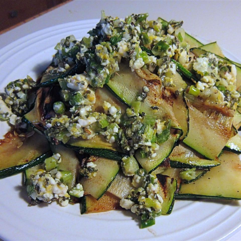 Grilled Parmesan Zucchini Bonnie G