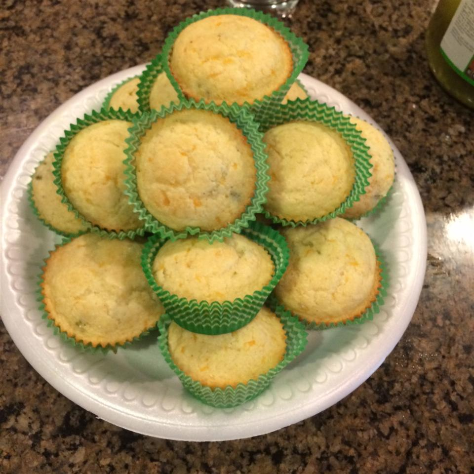 Spicy Cornbread Mini-Muffins noorxox