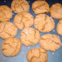 Molasses Peanut Butter Crinkles forever211