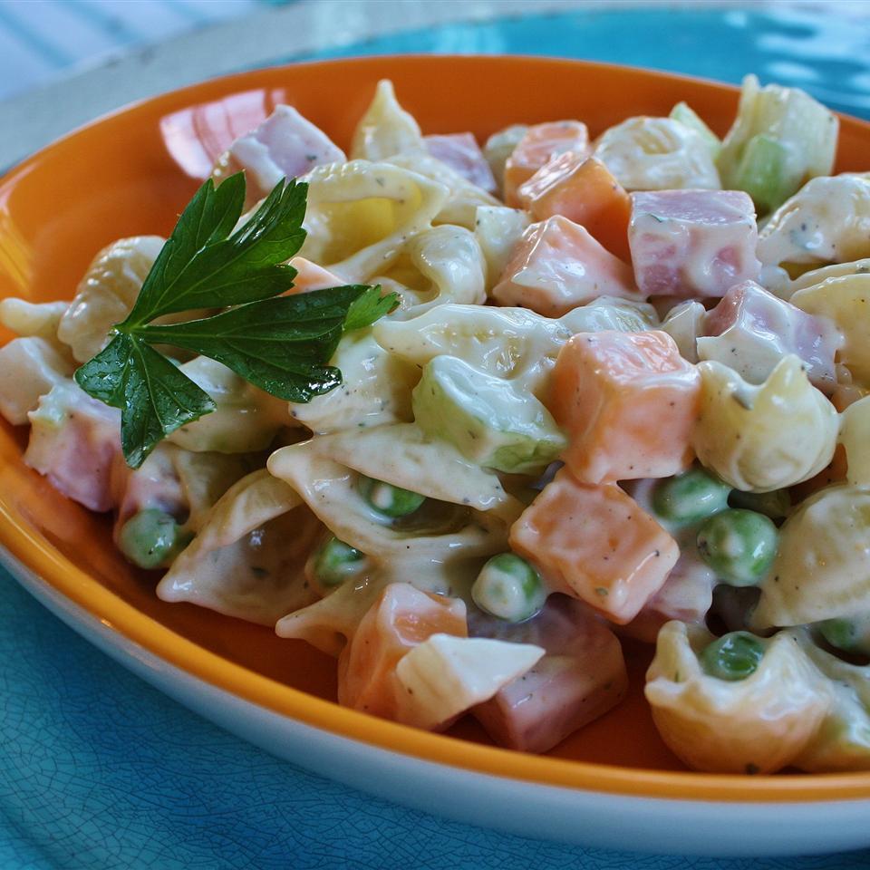 Ham and Shell Salad