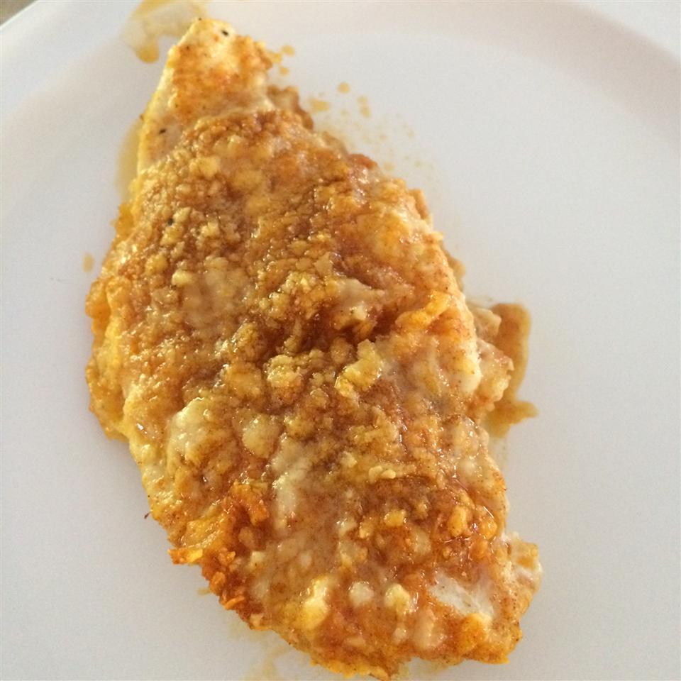 Baked Paprika-Parmesan Chicken Iblafin