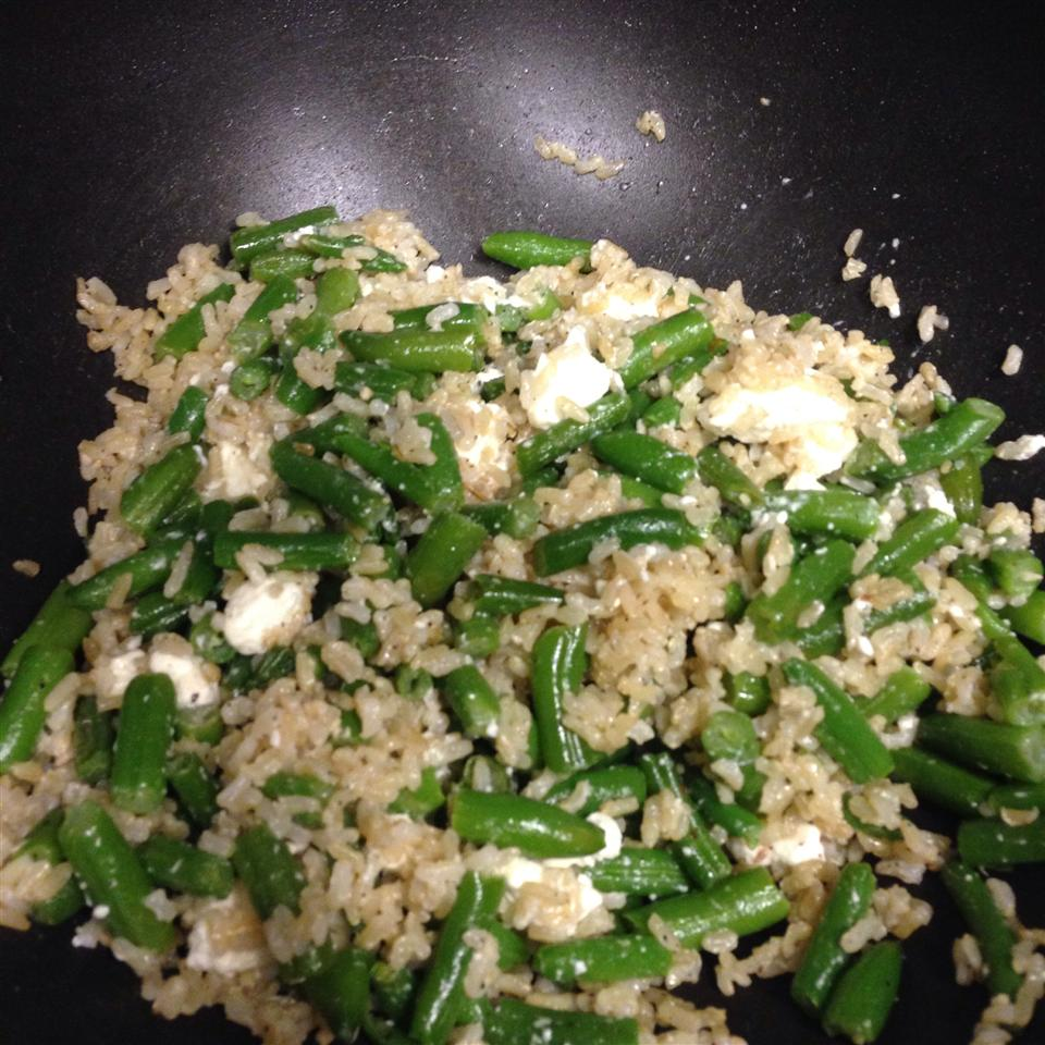 Vegetarian Fried Feta Rice by Andie Lisa Bejaran