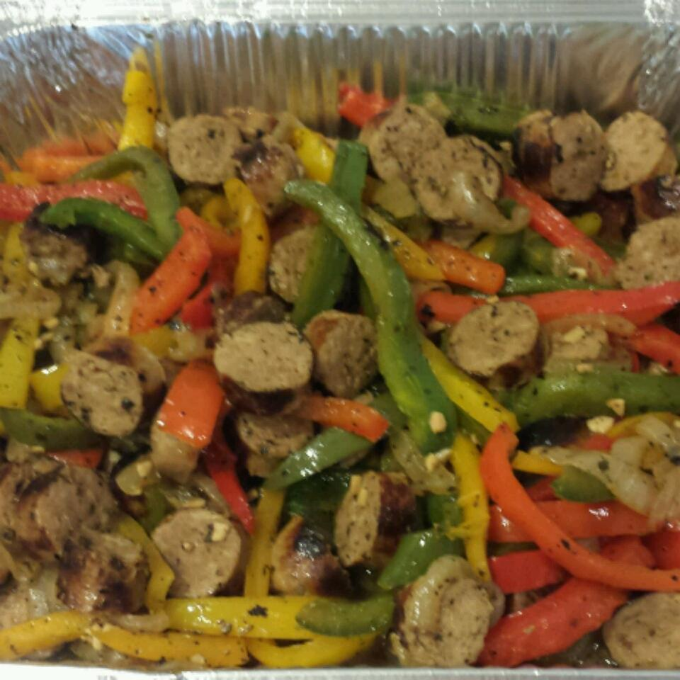 Italian Sausage, Peppers, and Onions Jenn Misiano
