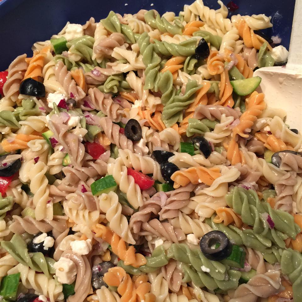 Easy Cold Pasta Salad Tricky45