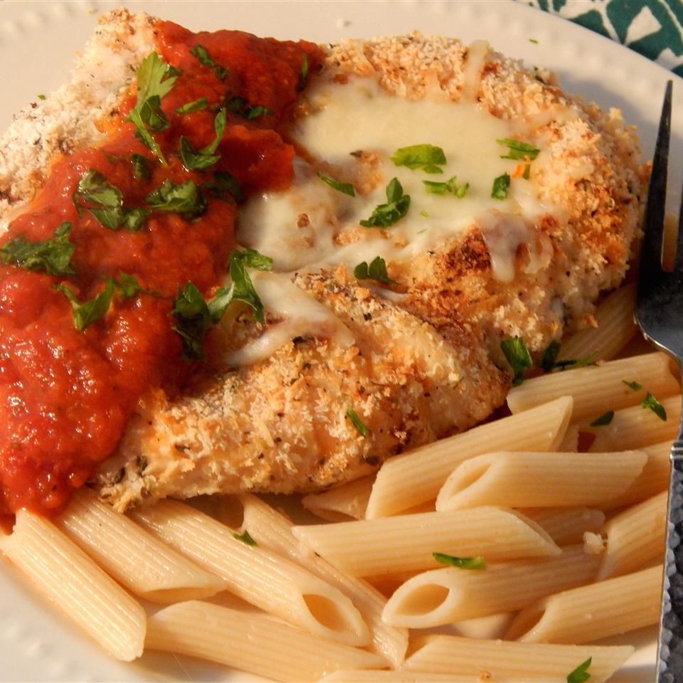 Farm Lady's Delicious Chicken Parmesan