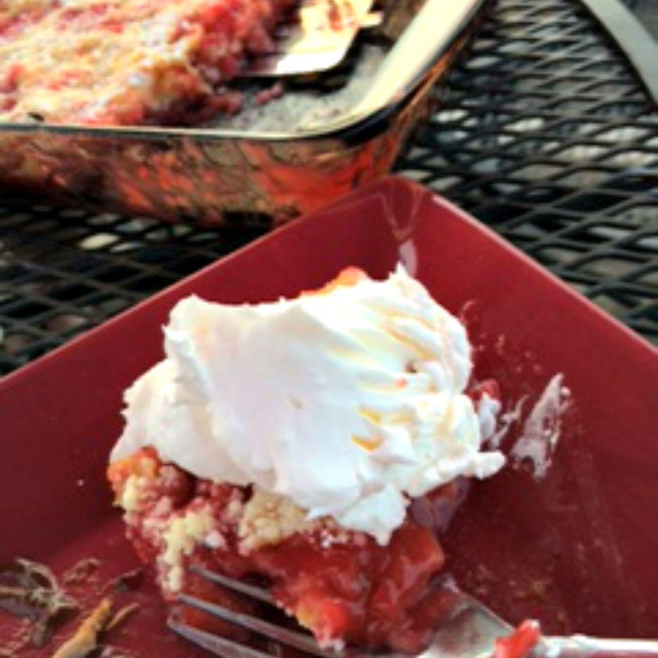 Strawberry-Rhubarb Cobbler Lucky Noodles