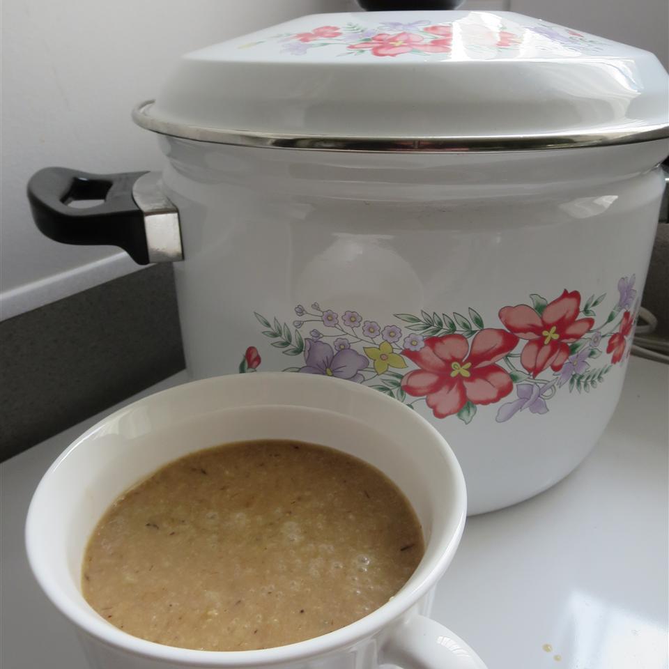 Roasted Cauliflower, Garlic, and Leek Soup Phoebe