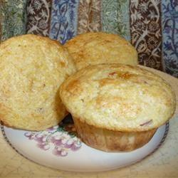 Beth's Peach-Nectarine Muffins MrsCdnFrog