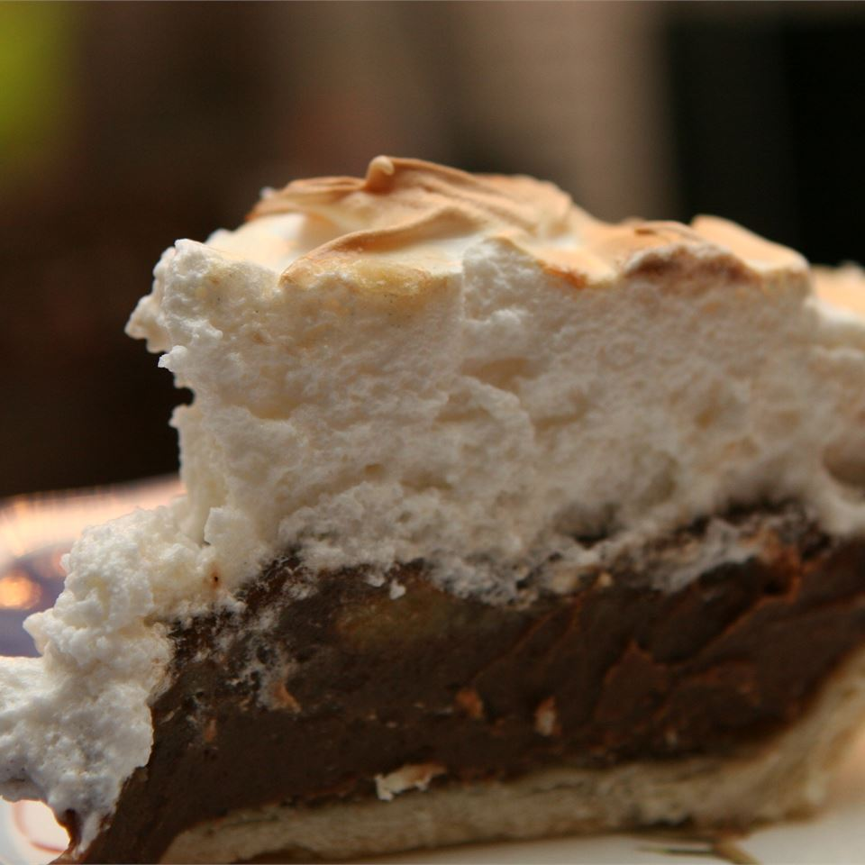 Fudgy Chocolate Cream Pie Nancy Sabatino