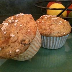 Bran Flakes Muffins with Raisins