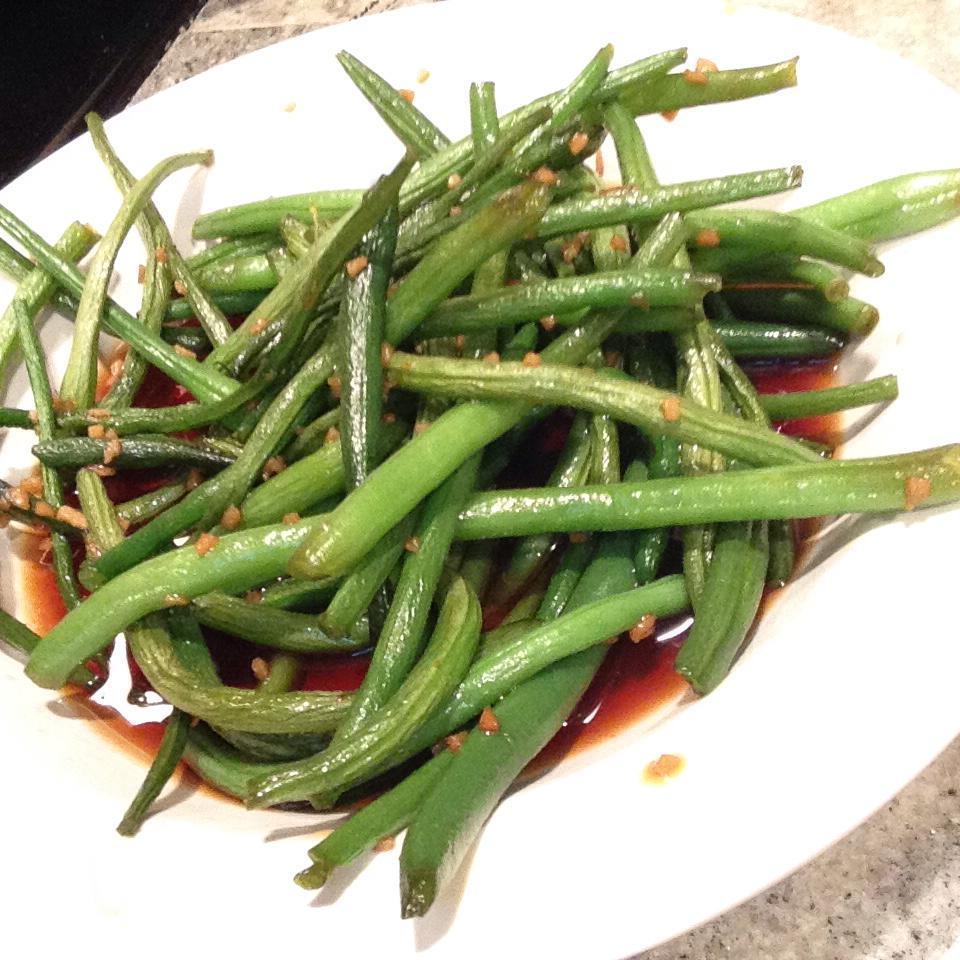 Honey Ginger Green Beans JuliaC