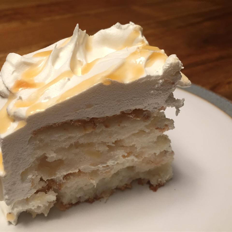 Pineapple Angel Food Cake I SchanzenbachCanham