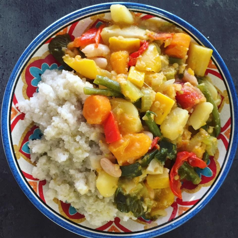 Traditional Vegetable Stew for Couscous