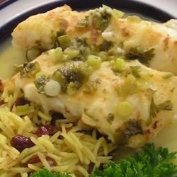 Orange Roughy with Citrus Sauce