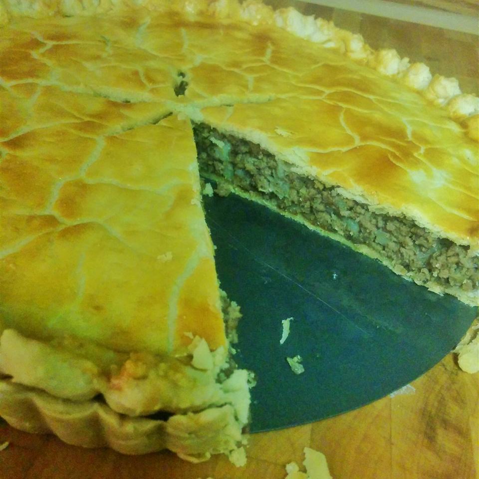 Meat Pie (Tourtiere) Stefania Tomassi