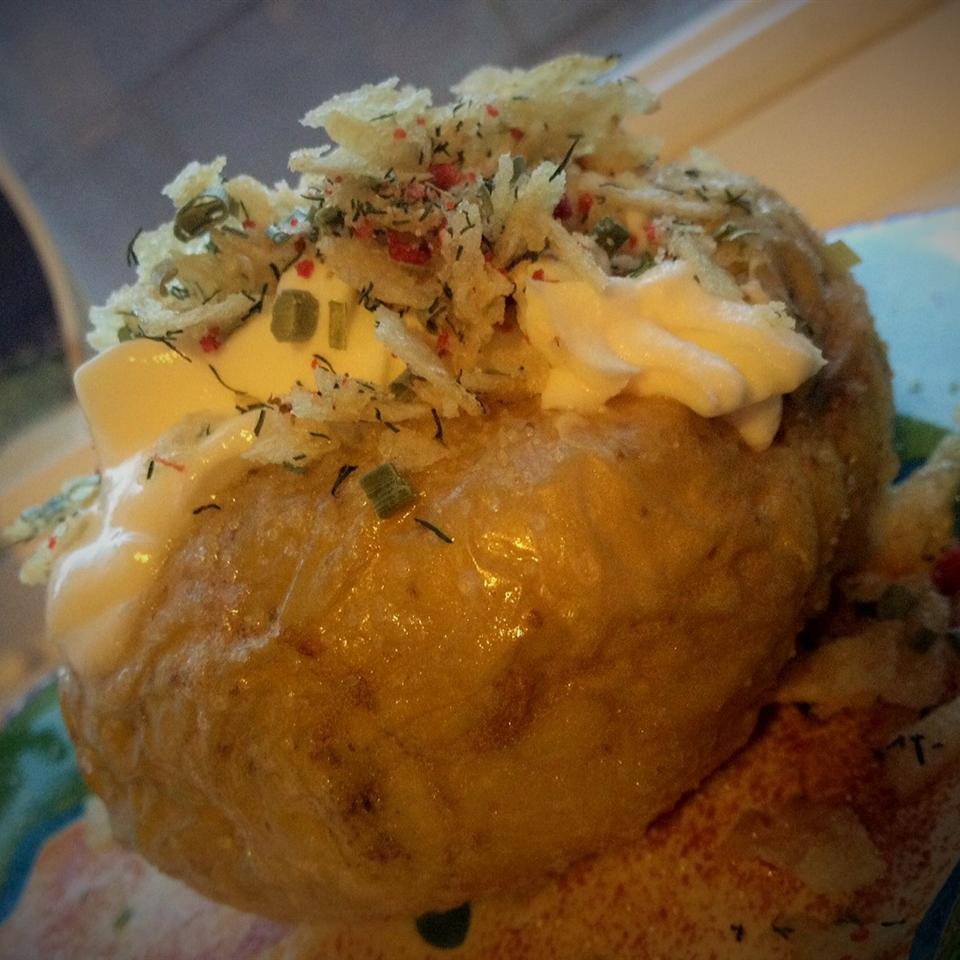 Easy Potato Chip Potato Topper Talia Felix