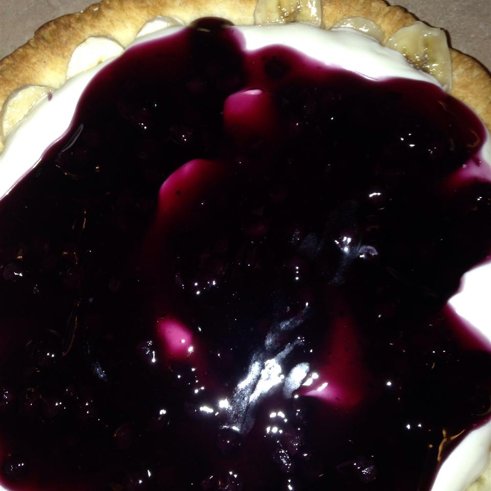 Blueberry Cream Cheese Pie Tammy Brock