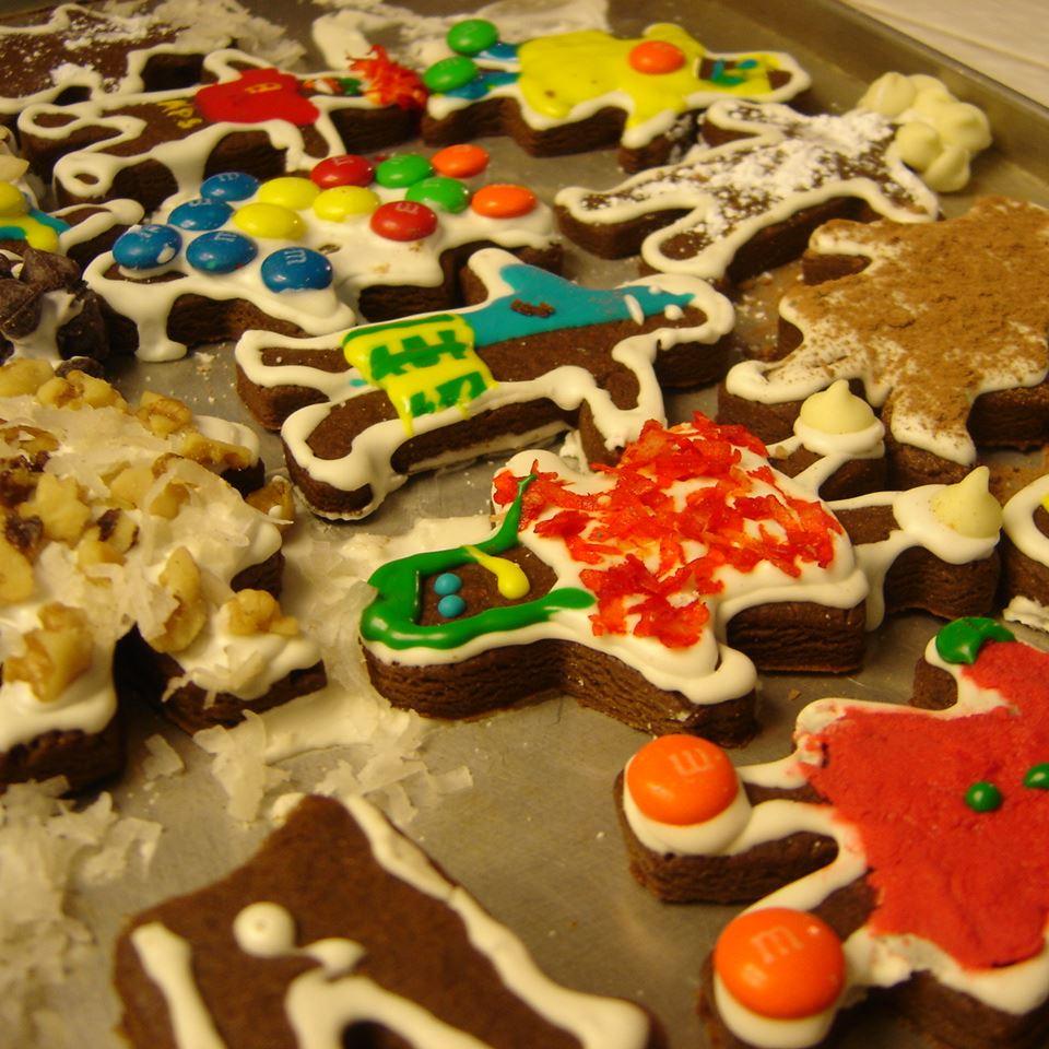 Chocolate Gingerbread Cookies Alex Q.