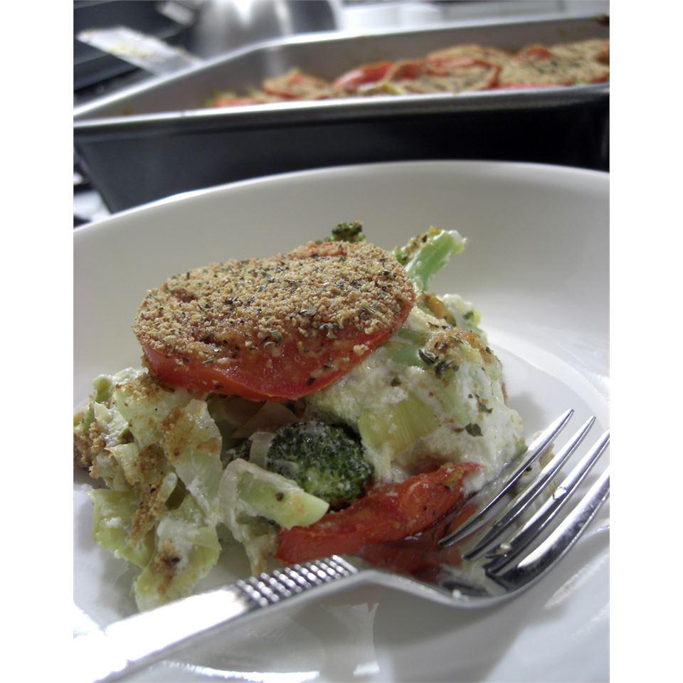 Broccoli and Artichoke Bake